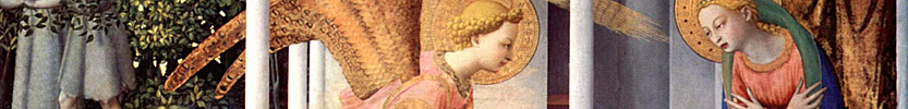 Annunciation / Angelico, fra, ca. 1400-1455 / 1432 (Click the picture for more information)