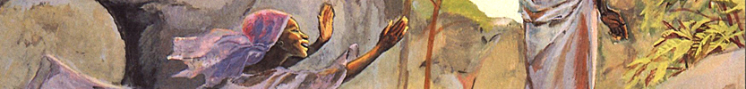 Easter - Christ appears to Mary / JESUS MAFA / 1973 (Click the picture for more information)